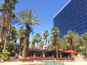 The Hard Rock Hotel and Casino held up in 110 degree heat and humidity